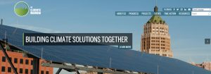screenshot of sa climate ready website
