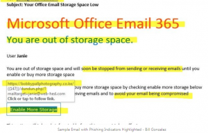 Office 365 email message