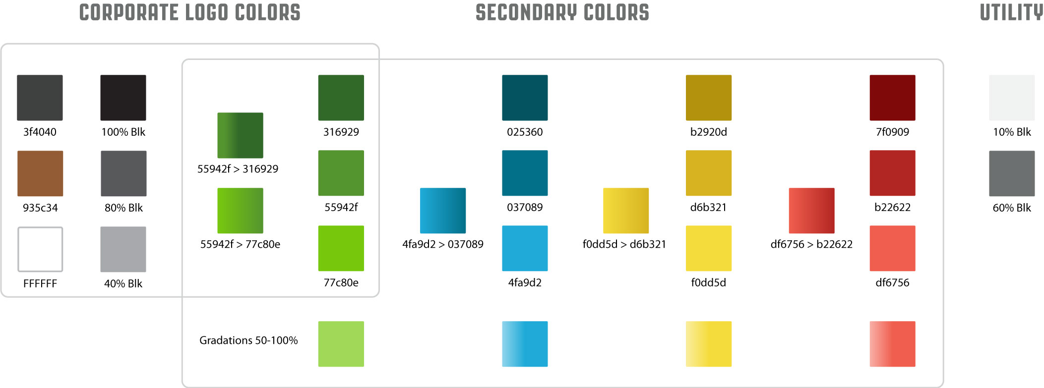 HAC: Corporate Colors