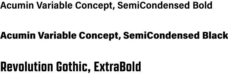 HAC: Corporate Typefaces